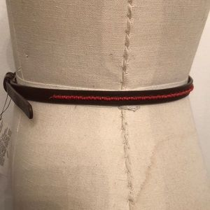 Accessories - Skinny leather belt S